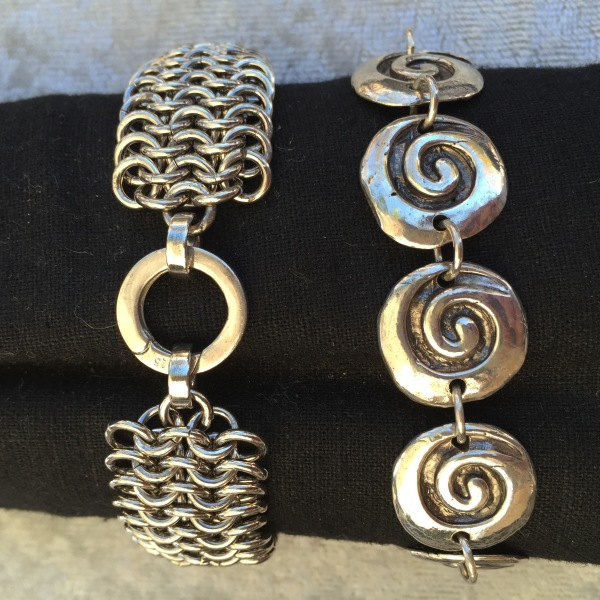 Chain Maille and Spirals