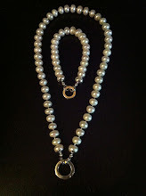 Pearls with Chunky Silver Accents