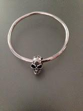 Bangle with Skull