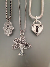 Lock, Tree and Hamsa