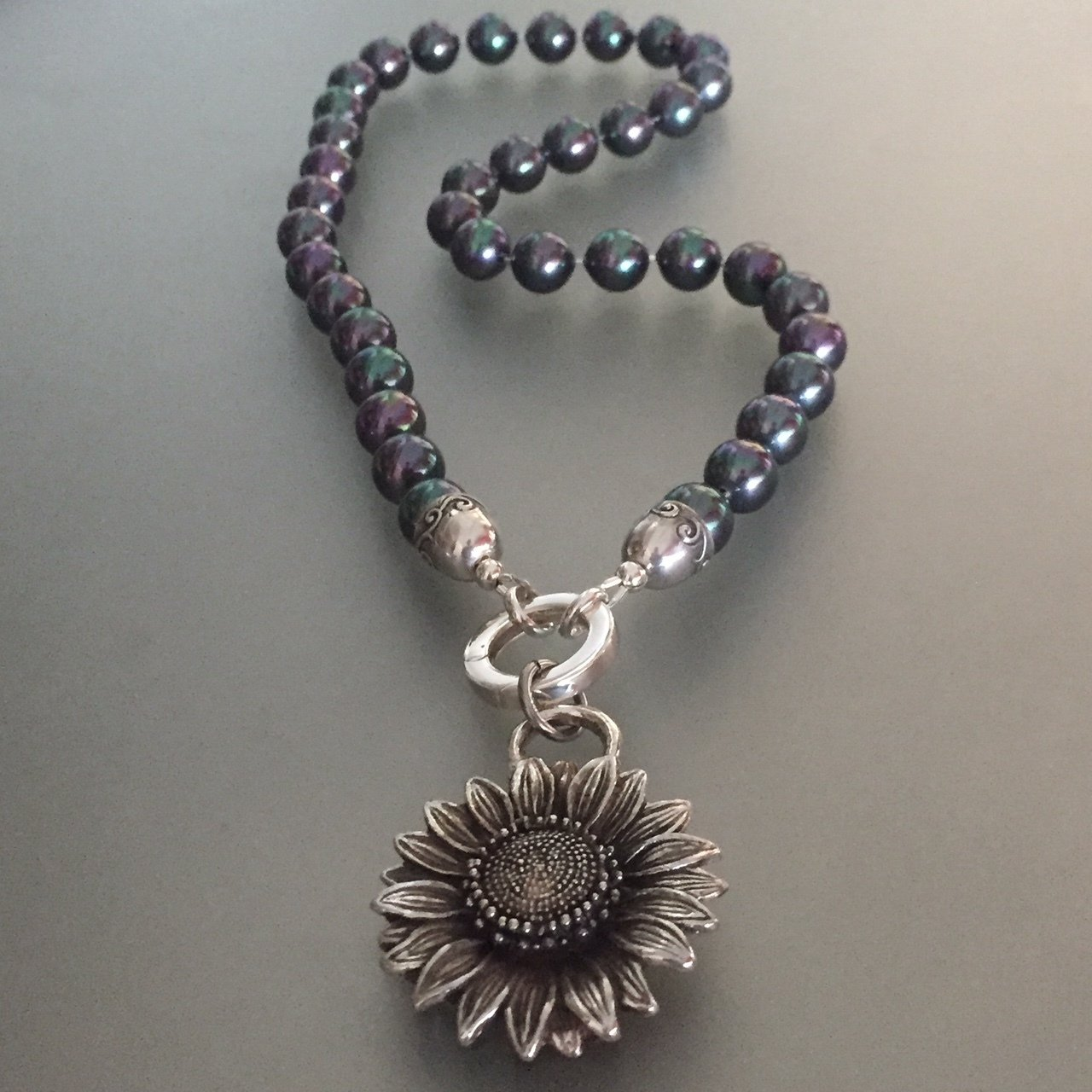 Tahitian Pearl and Sunflower