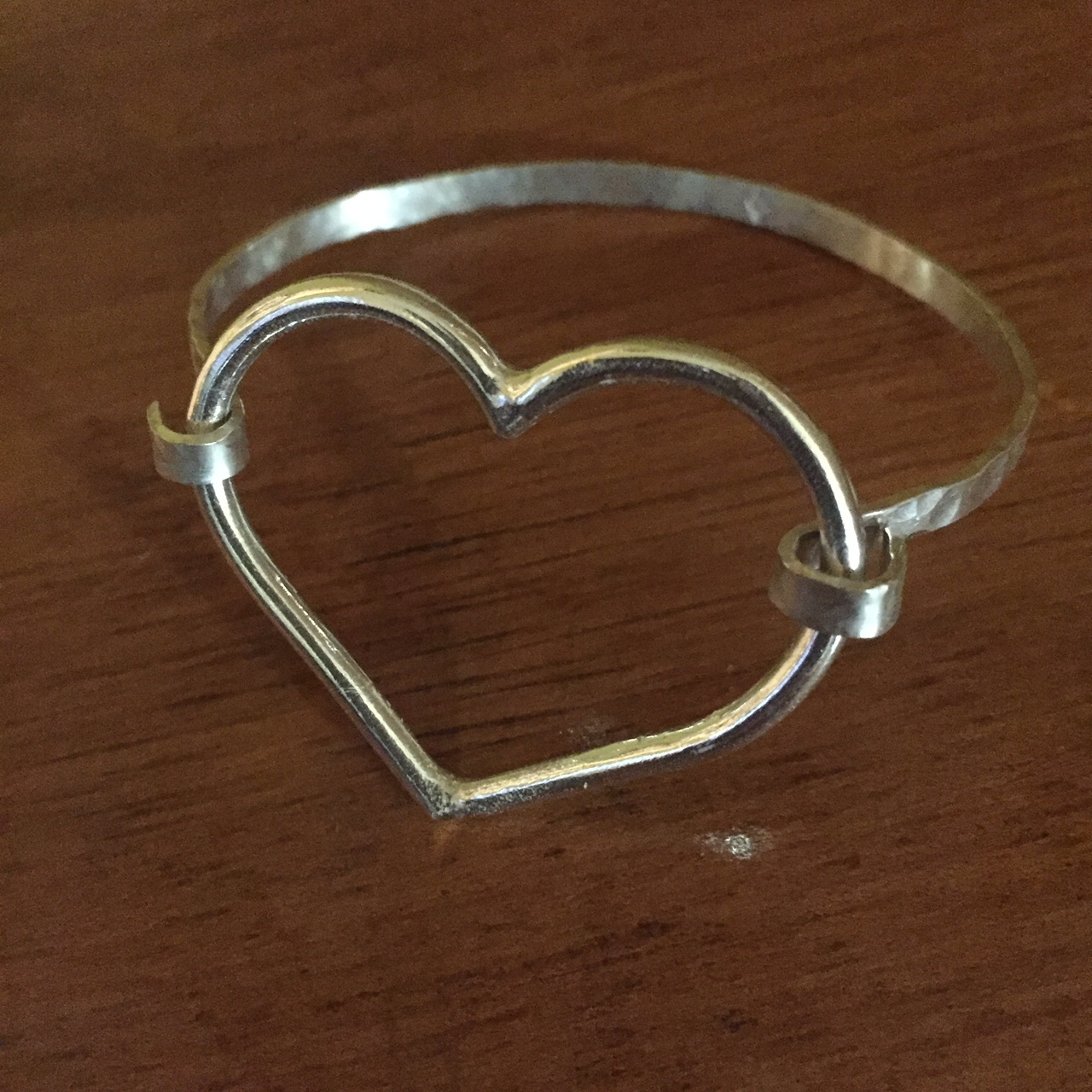 Open Heart Hook Cuff