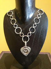 Loopy Necklace with Pendant